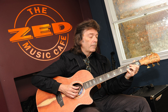 Steve Hackett at the Zed Music Cafe