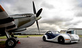 Morgan Aero 8 and Spitfire